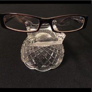 Chocolate Brown Glasses